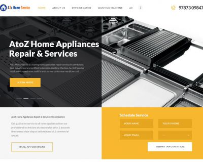 AtoZ Home Appliances Repairs