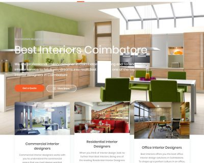 Best Interiors designers in Coimbatore