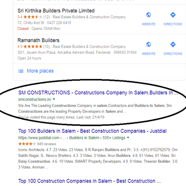 Sm Construction Seo Services